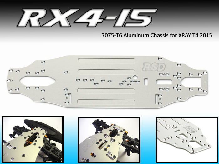 RX4-15 Aluminum Chassis