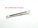 PN Racing Mini-Z MR-02 Aluminum Tie Rod V2 - +1 deg (silver)