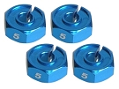 RSD DCJ 5mm Clamping Hex Hub Adapters (1 Pair)