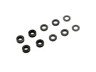 RSD M3 Shim Kit (4x 2.0mm, 4x 1.0mm, 2x 0.5mm) (Black)