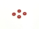 RSD Aluminum Shock Spacer Washers (Red)