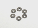RSD 1 Degree Washers for XRAY / AE Touring Cars (6 pcs)
