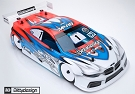 Bittydesign M410 1/10 Touring Car Body (Light Weight)