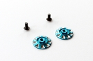 RSD Wing Nuts - Blue (1 pair)