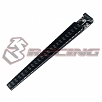 ST-008/V2/BK 3Racing Chassis Ride Height Gauge - Black 3.1-7.5mm (0.2mm increments)