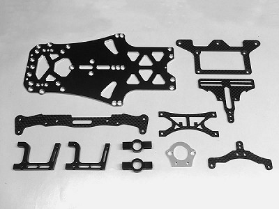 RSD RR12T2 Conversion Kit and Aluminum Chassis for RR12V2
