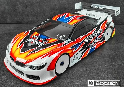 Bittydesign M410 ULT 1/10 Touring Car Body
