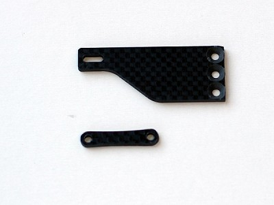 RSD TC6.2 De-Coupled Servo Mount Carbon Parts