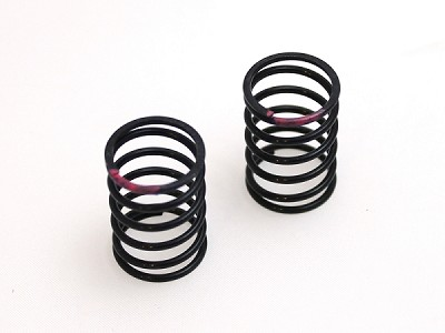 RSD 15.0 lb/in 25mm Touring Car Spring - Pink (1 Pair)