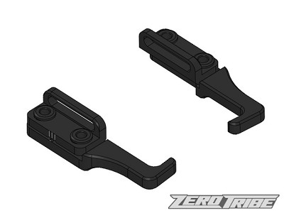 Zero Tribe XRAY Aluminum Adjustable Battery Holders