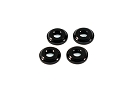 RSD Aluminum Shock Spacer Washers (black)