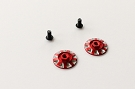 RSD Wing Nuts - Red (1 pair)